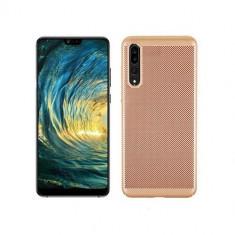 Husa Telefon Plastic Huawei P30 Mesh Gold