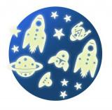 Cumpara ieftin Decor fluorescent Djeco, Cosmos
