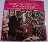 Vinil Nat King Cole – More Cole Español (-VG)