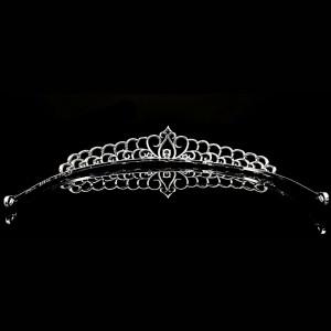 Tiara placata cu Aur 18K si Diamante, Cleopatra