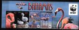 Bahamas - Fauna WWF - PASARI - FLAMINGO - MNH, Nestampilat