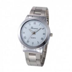 Ceas de dama elegant Geneva CS280, bratara metalica