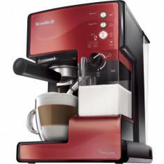 Espressor cafea Breville Prima Latte Red 15 bari 1.5 l Rosu