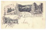 5128 - HOHE RINNE, Sibiu, Litho, Romania - old postcard - used - 1899