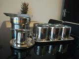 Set pahare whisky ZEPTER din inox placat cu aur de 24 K