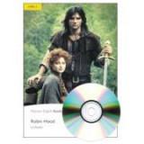 English Readers Level 2. Robin Hood Book + CD - Liz Austin