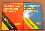 Dictionar German-Roman si Dictionar Roman-German - Editura Teora, 1994