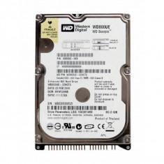 HARD DISK LAPTOP SH WESTER DIGITAL WD800UE , 80 gb