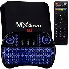 Adaptor smart TV MXQ PRO S905W, 4K, 2/16 GB RAM DDR3, + tastatura i8 foto