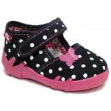 Sandale pentru copii, RenBut, Fete, 19 - 27, Negru