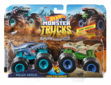 Set doua masini Hot Wheels, Mega Wrex si Leopard Shark FYJ65