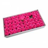 Cumpara ieftin Trandafiri Sapun 5cm Roz Bombon