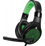 Casti Gaming Marvo H8323 (Negru-Verde)