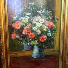 Vas cu flori - Ion Tuculescu, Ulei, Impresionism