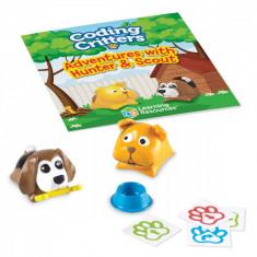 Joc codare - Aventurile catelusilor PlayLearn Toys
