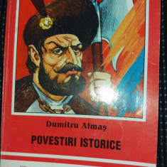 DUMITRU ALMAS POVESTIRI ISTORICE