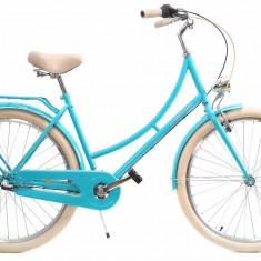 Bicicleta Dama Dhs Citadinne 2636 Verde Light 26