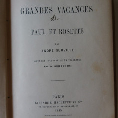 Andre Surville - Les Grandes Vacances (in franceza)