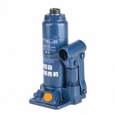 Cric hidraulic tip butelie, 2 t, H 181-345 mm, trusa plastic// STELS