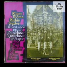 Orga Catedralei din Riga - Lucrari pentru orga - disc vinil in stare excelenta