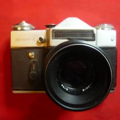 Aparat de Fotografiat Zenit E cu obiectiv Helios , URSS -de colectie