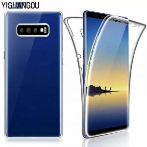 Husa de silicon 360 fata / spate Samsung Galaxy S10 / S10e / S10 Plus / S10+