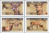 TADJIKISTAN 2009, Fauna - WWF, serie neuzata, MNH, Nestampilat