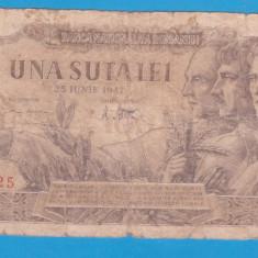 (12) BANCNOTA ROMANIA - 100 LEI 1947 (25 IUNIE 1947)