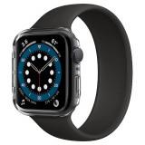 Cumpara ieftin Husa Spigen Thin Fit pentru Apple Watch Seriile 6/5/4/SE (40mm), Ultra Subtire, Transparent