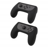 Huse Grip Holder DELTACO GAMING pentru Nintendo Switch Joy-Con, negru