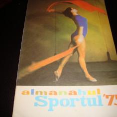 Almanahul Sportul 1975