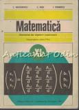 Matematica. Elemente De Analiza Matematica - C. Nastasescu,I. Stanescu