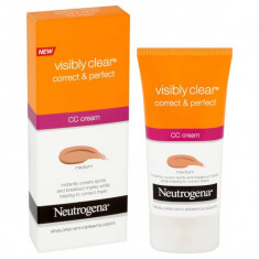 CC Cream Neutogena Visibly Clear Correct Protect Medium 50 ml