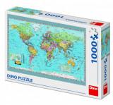 Cumpara ieftin Puzzle, Harta politica a lumii, 1000 piese
