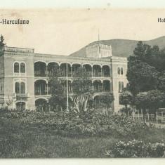 cp Romania Baile Herculane Hotel Carol - 1929