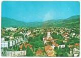 Carte poștală - Câmpulung Moldovenesc, vedere generală - anul 1981 - circulată