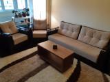 Set Canapea extensibilă 3 locuri + 2 fotolii