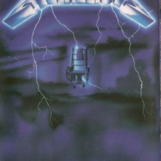Caseta Metallica ‎– Ride The Lightning, originala , sigilata, holograma