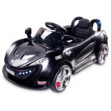 Masinuta electrica cu telecomanda Toyz Aero 2x6V Black, Negru