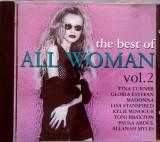 CD The Best Of All Woman Vol.2, original: Tina Turner, Whitney Houston, Madonna