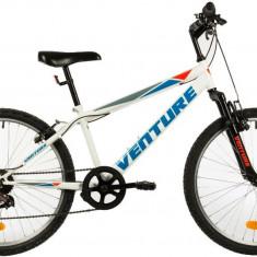 Bicicleta Copii Venture 2419 Alb 24 Inch