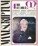 Cumpara ieftin Manuscriptum. Revista Trimestriala - Nr.: 4/1980 * (41) Anul XI