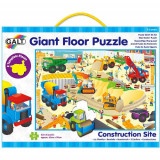 Giant Floor Puzzle - Construction Site, Galt