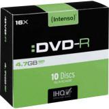 Mediu optic Intenso DVD-R 4.7GB 16x 10 bucati