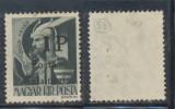 1945 ROMANIA Posta Salajului timbru local 1P pe 1f porto original negumat