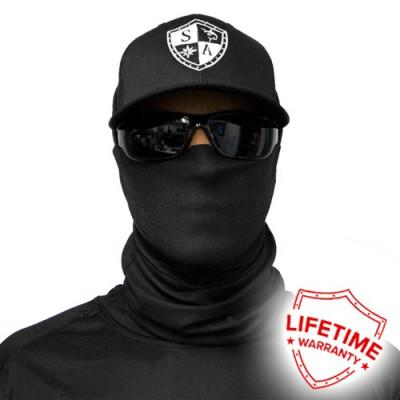 Bandana/Face Shield/Cagula/Esarfa - Tactical | Black, made in USA foto
