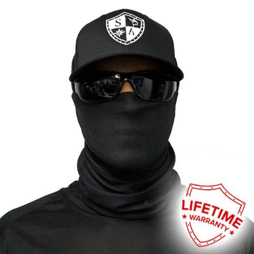 Bandana/Face Shield/Cagula/Esarfa - Tactical | Black, made in USA