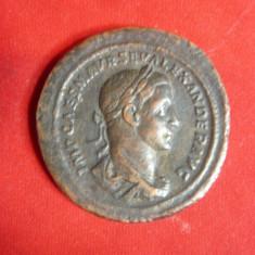 Sestert -Copie veche- Imparatul Sever-Alexandru ,revers Pax Augusti , d= 3,7