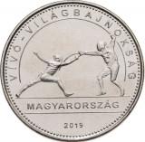 UNGARIA - 50 forint jub. - Camp. mond. de scrima - UNC
