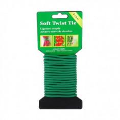 Sarma de legat pentru gradina, Strend Pro SoftTwist, diametru 2.5mm, lungime 10 m, verde